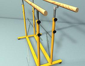 parallel bars 01 3D model