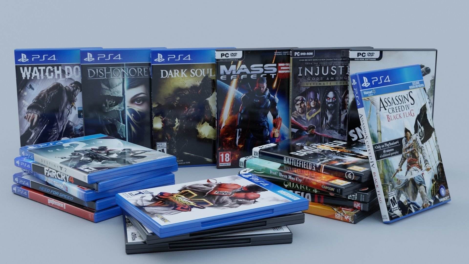 Vol2 DVD Pack of 20 PC PS4 Popular Games
