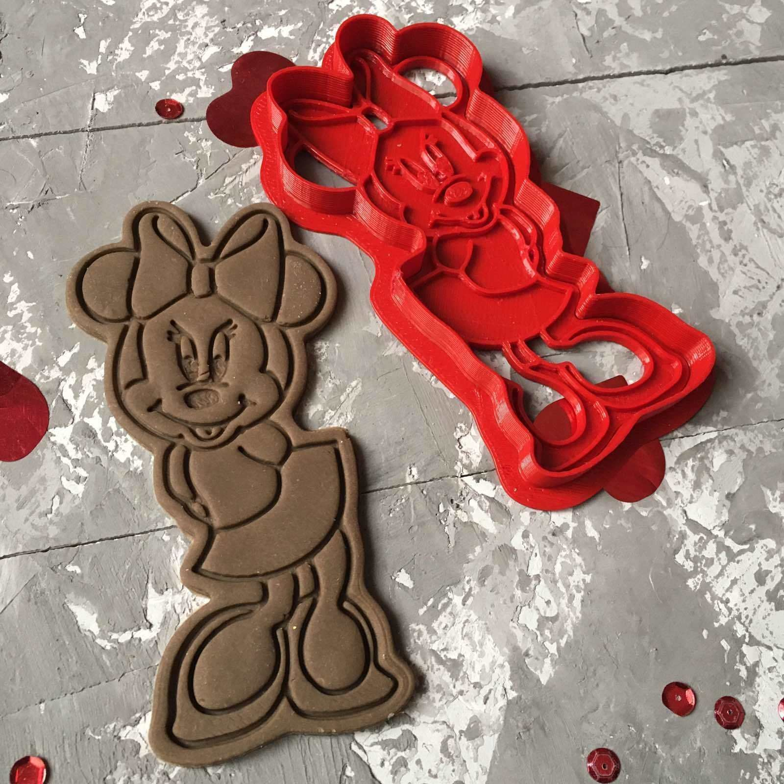 Minnie Mouse Cookie Cutter 3D print model