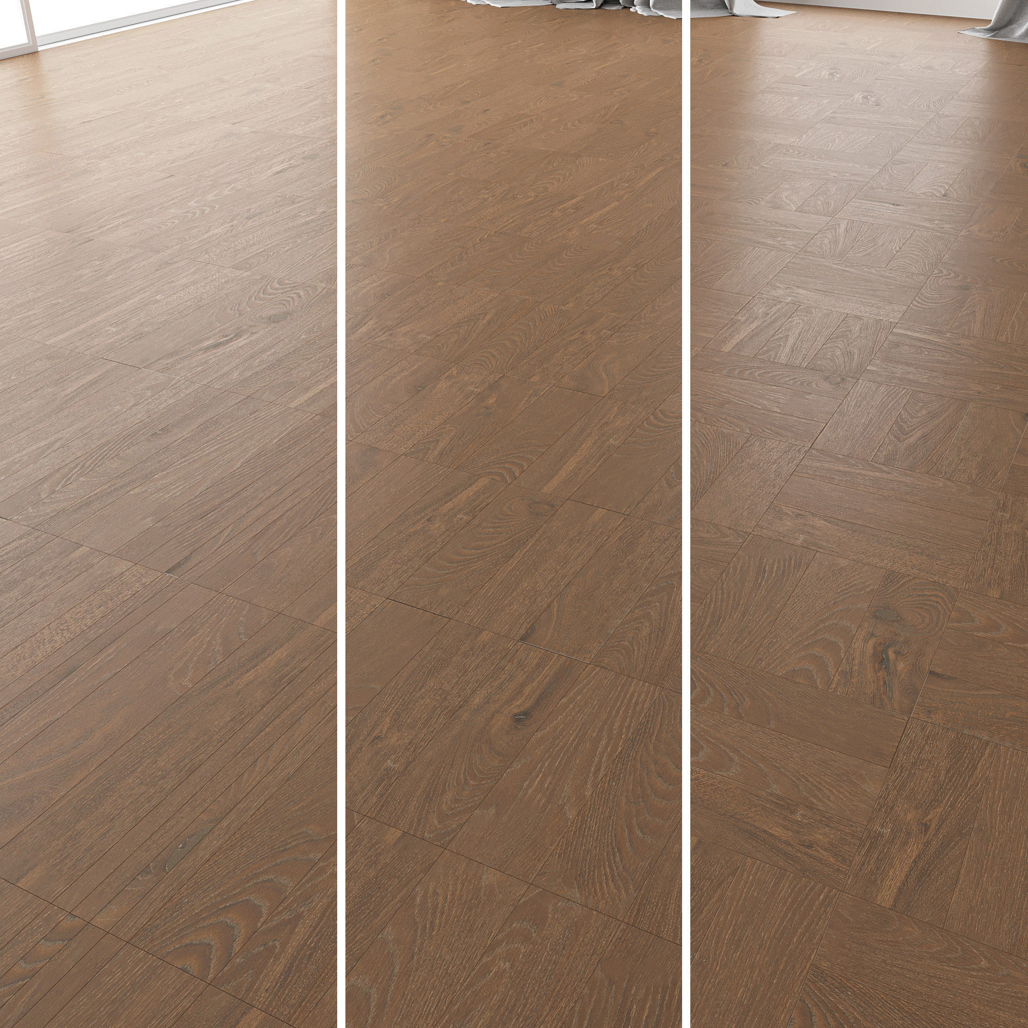 Parquet Oak Vincinyatta Brushed set 3