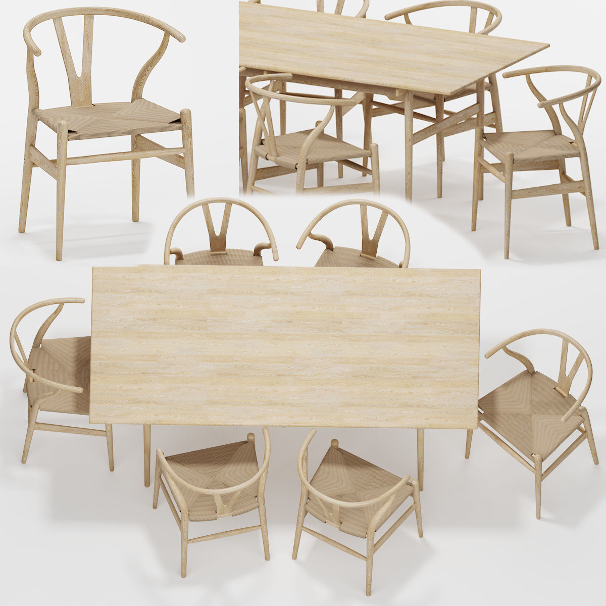 Table Chair Set 05