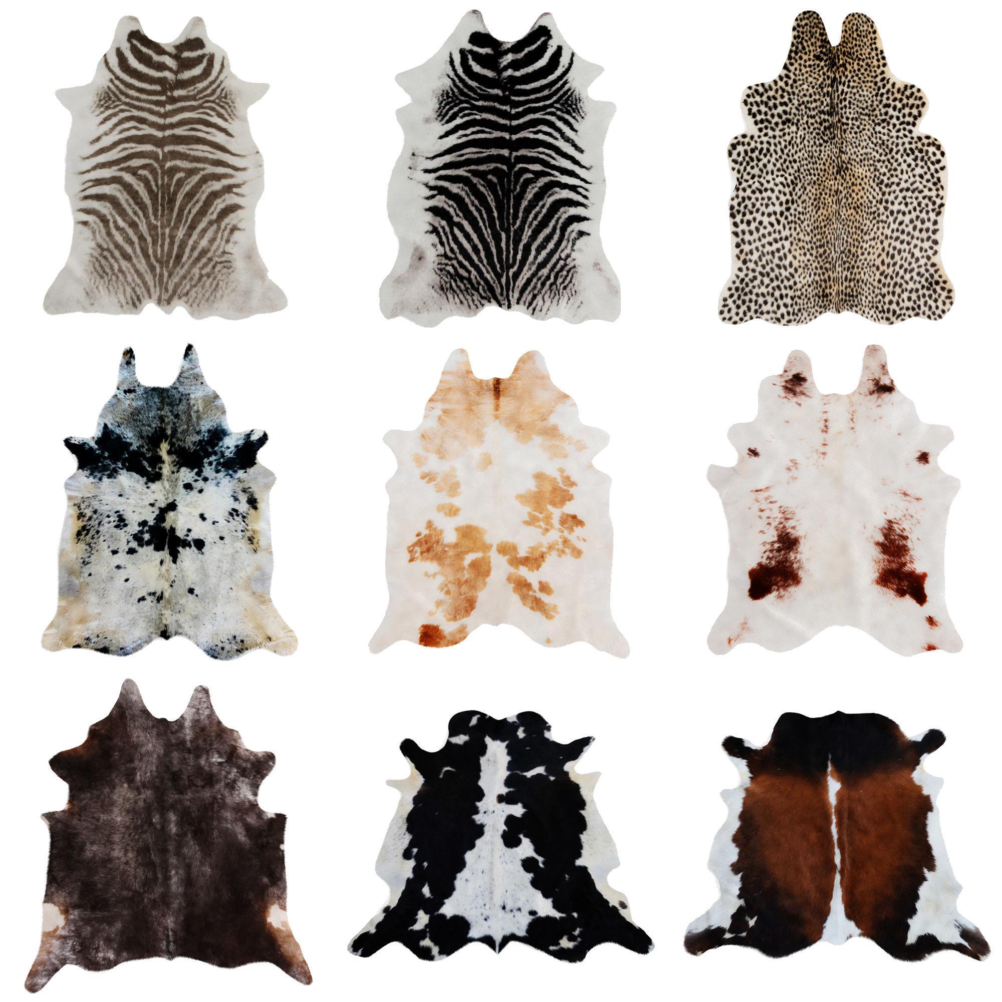 Nine Rugs From Animal Skins 08