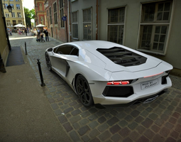 Lamborghini Aventador 3D aventador