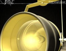 Stage light mini pa 3D