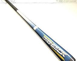baseball bat 04 3d model obj 3ds c4d dxf br5 obp