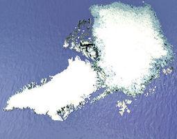 3D model arctic greenland