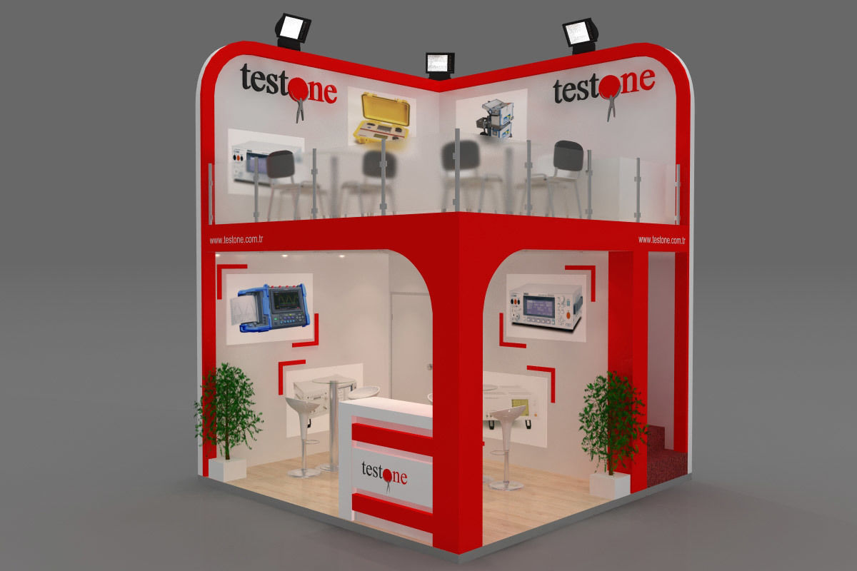 Exhibition Stand - ST0038