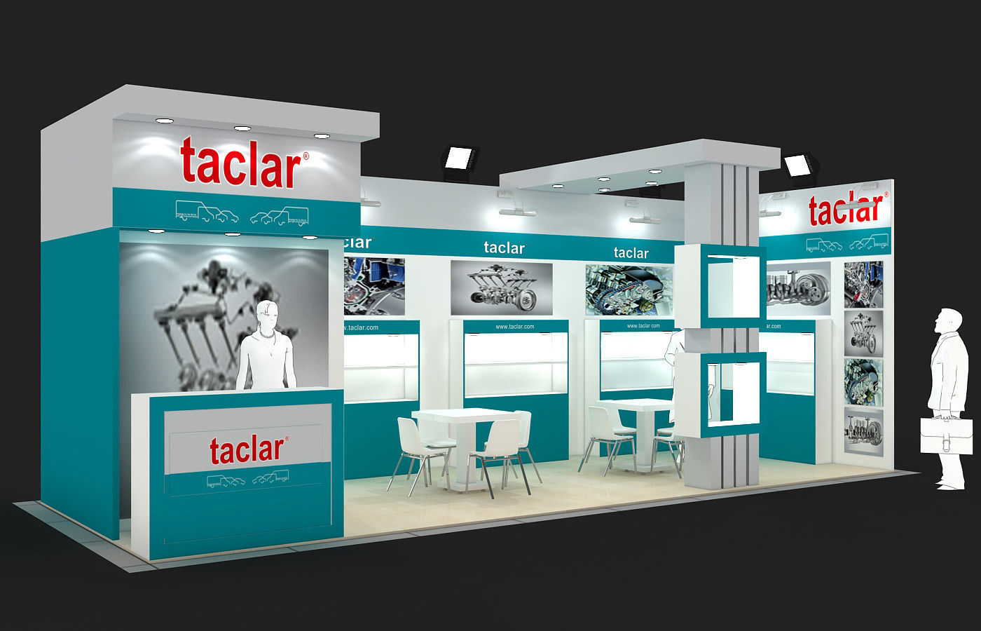 Exhibition Stand - ST0039