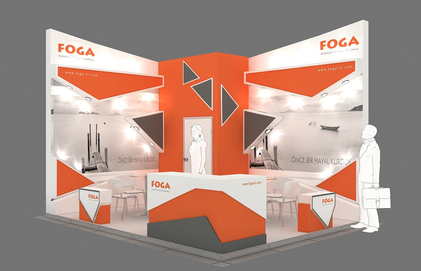 Exhibition Stand - ST0056