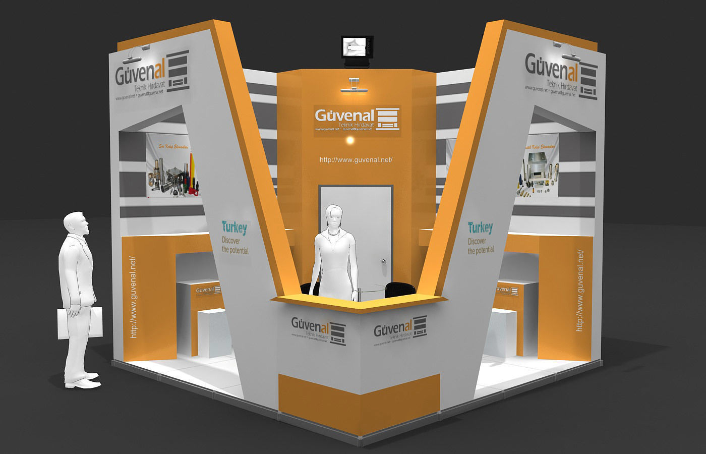 Exhibition Stand - ST0057