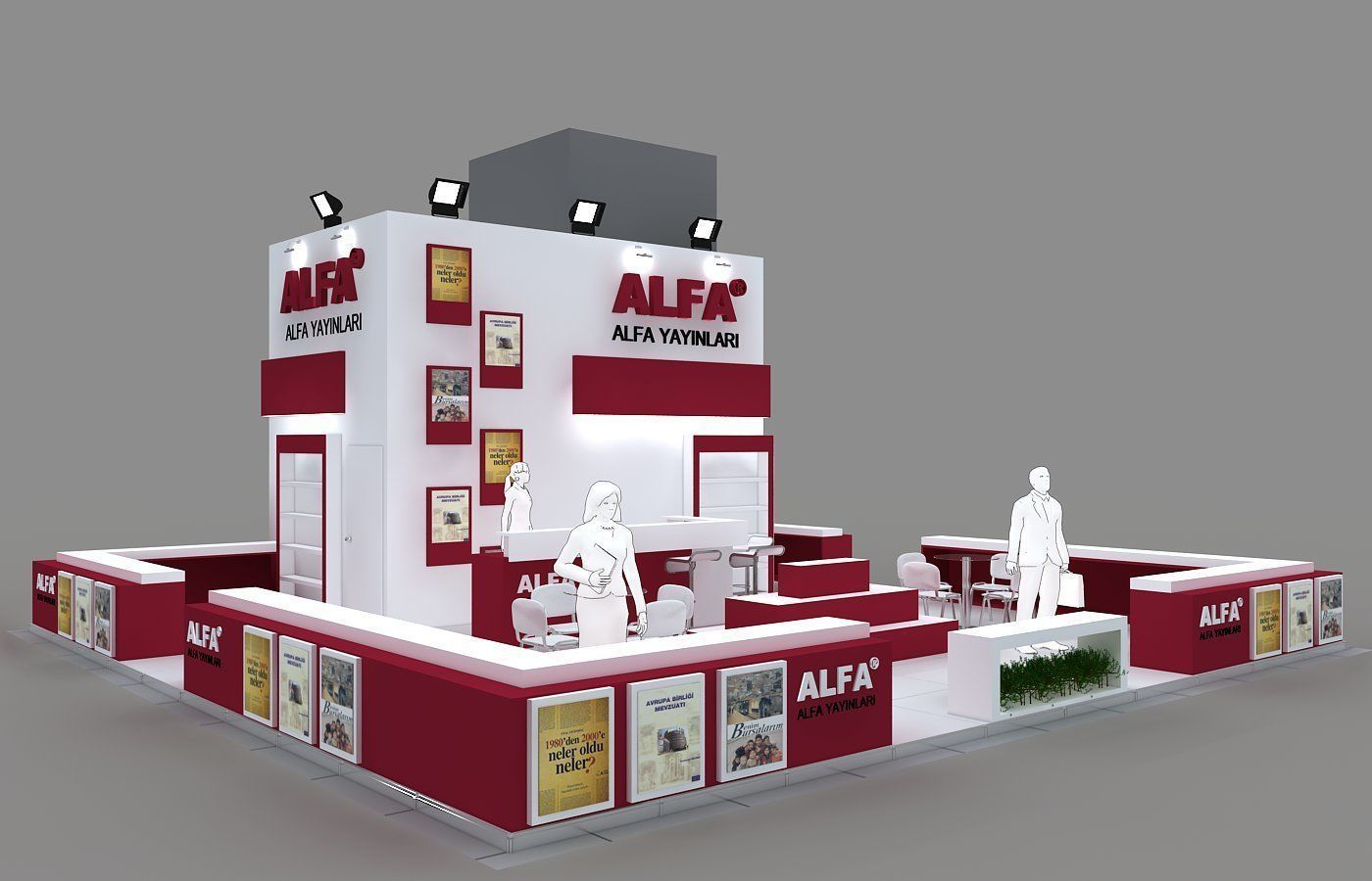Exhibition Stand - ST0062