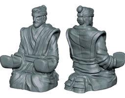 samurai holder 3D print model