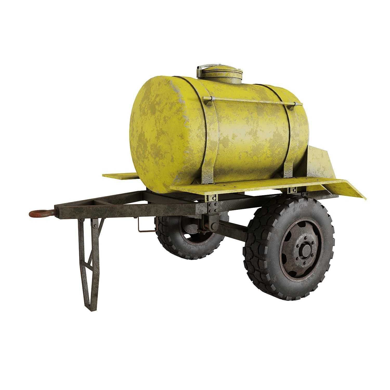 Trailer barrel
