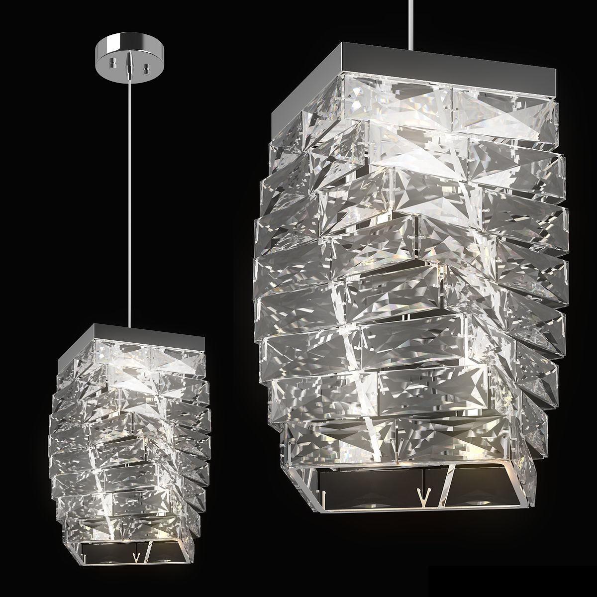 722040 Limpio Lightstar Pendant chandelier