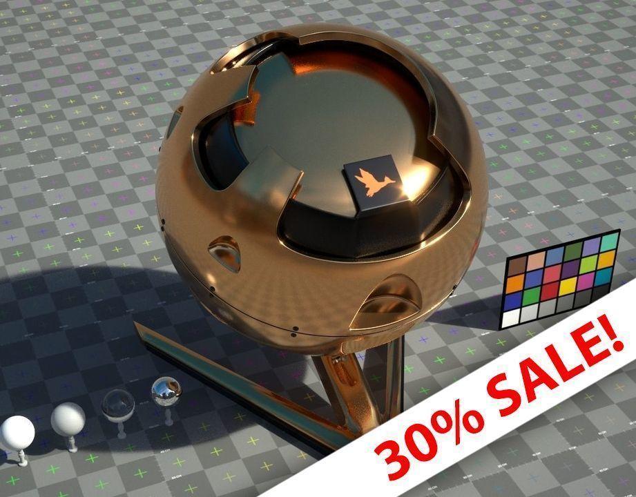 Gold - VRay shader