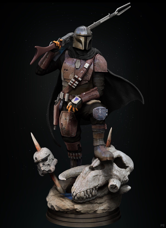 The Mandalorian classic armor Din Djarin 3d printing star wars