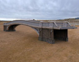 3D model Bow Bridge