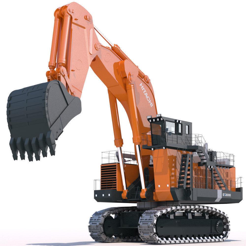 Excavator Hitachi EX8000