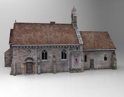 Church 3D rigged