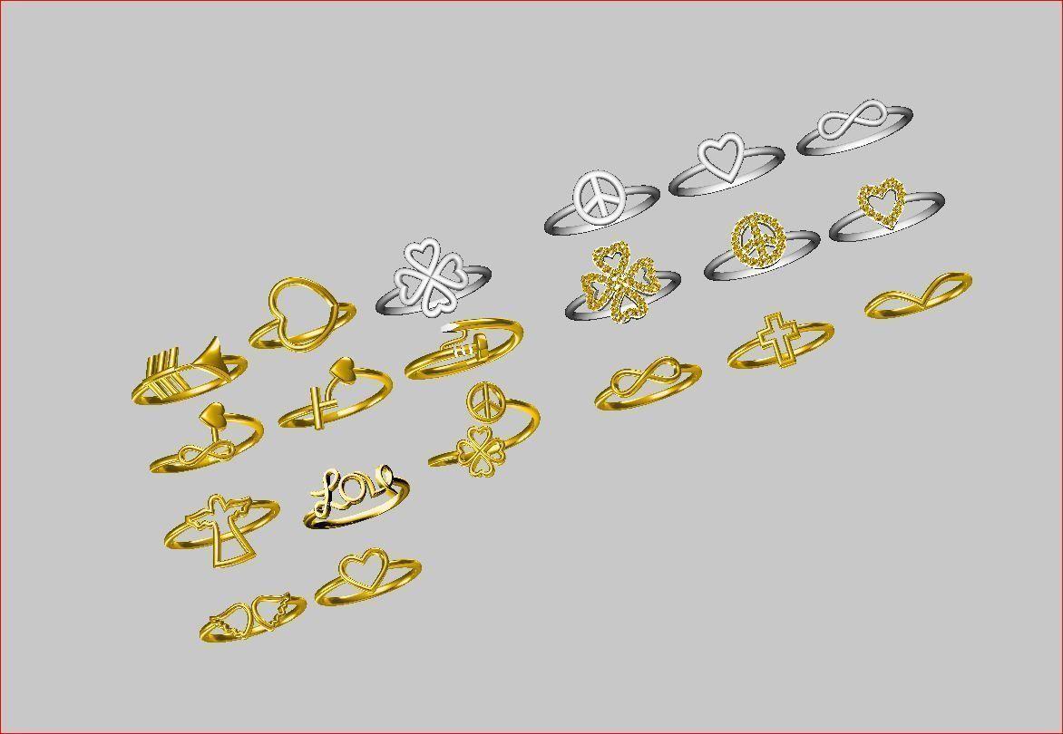 Light Rings - 20 Models