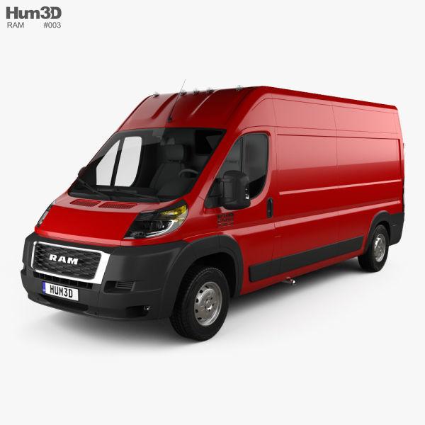 Ram ProMaster Cargo Van L3H2 2019