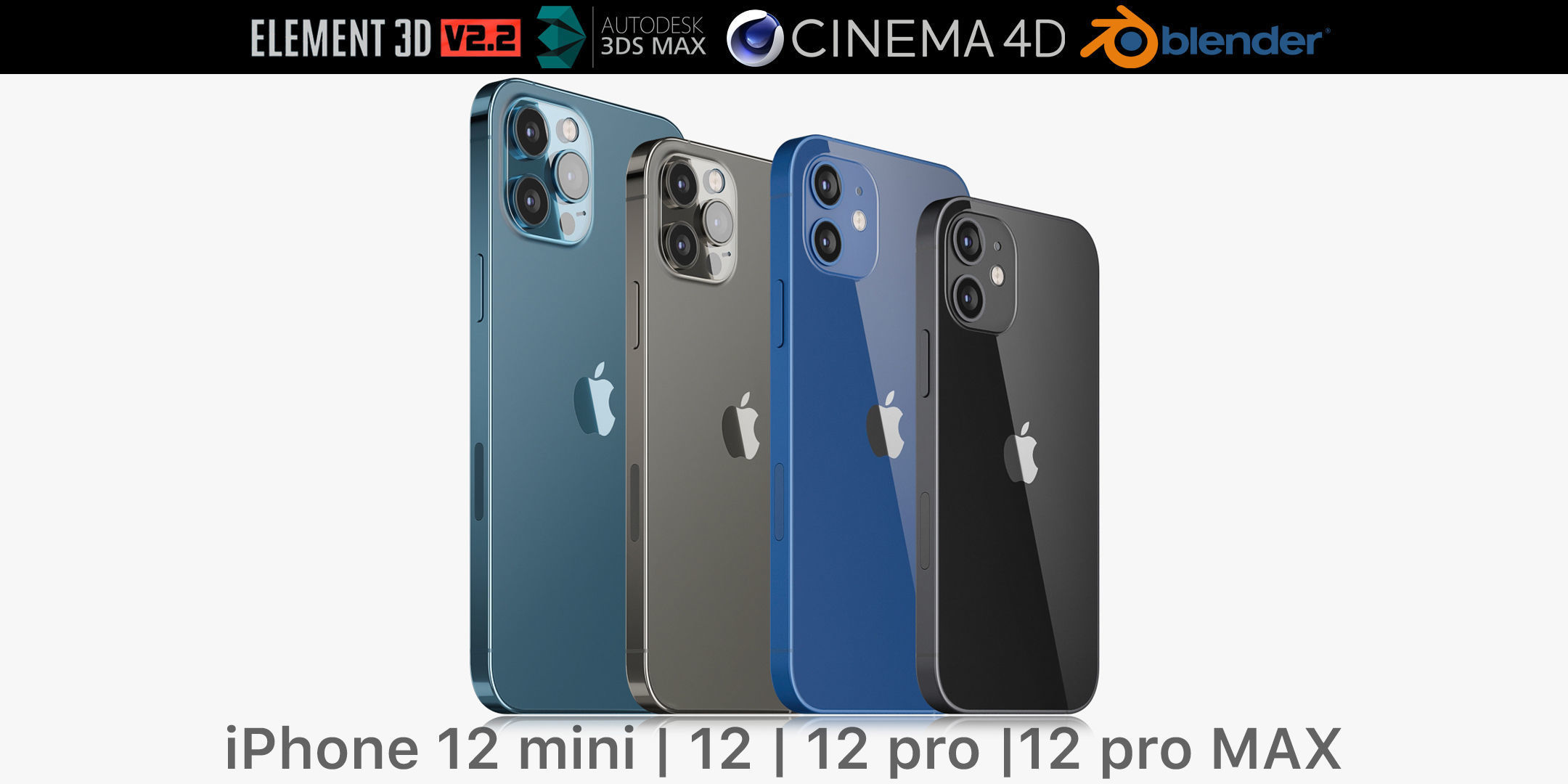 Apple iPhone 12 mini and 12 and 12 pro and 12 pro MAX