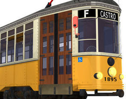 3D San Francisco tramway
