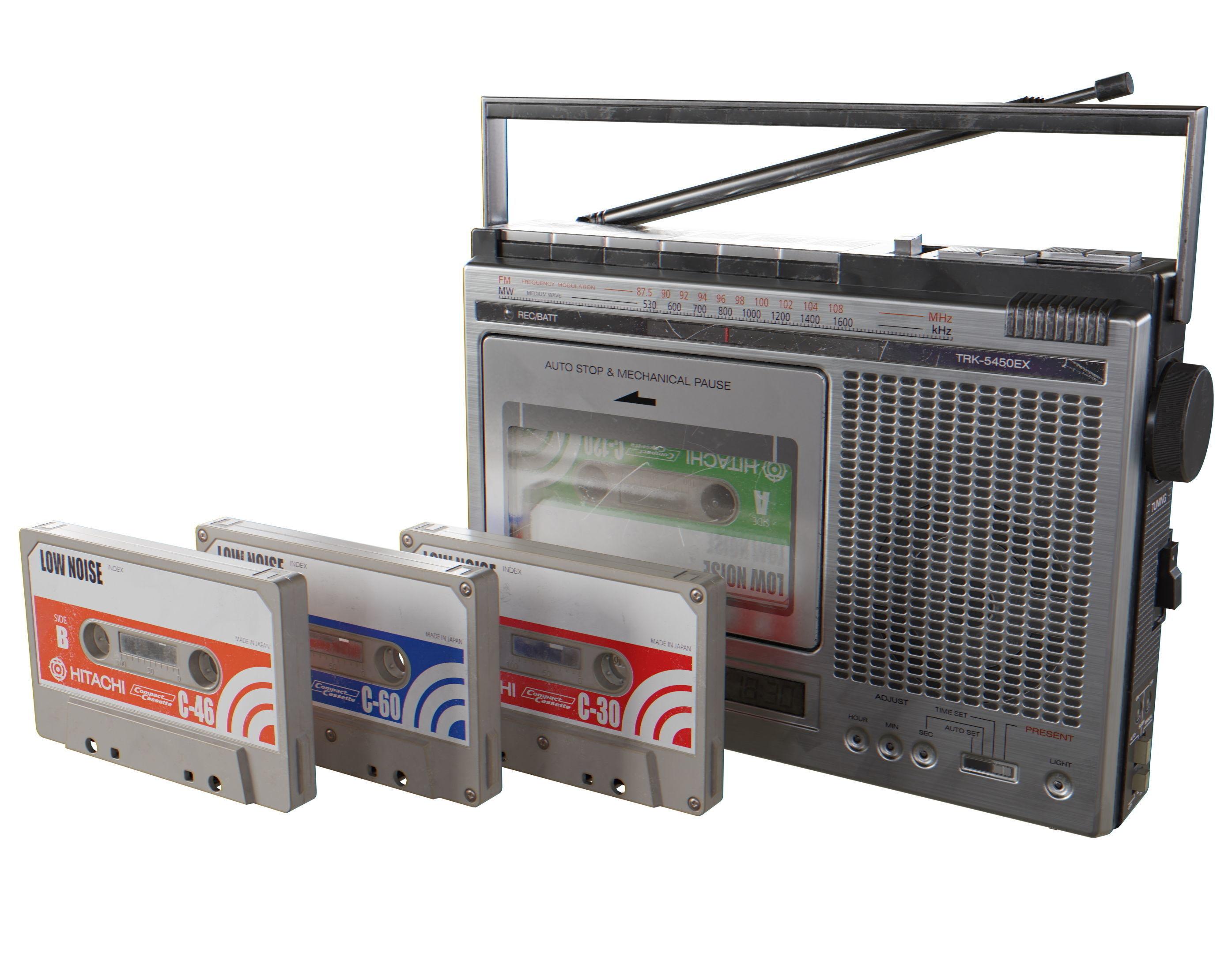 HITACHI TRK-5450EX Cassette Recorder