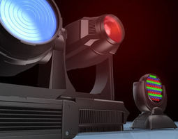 moving head collection 3d