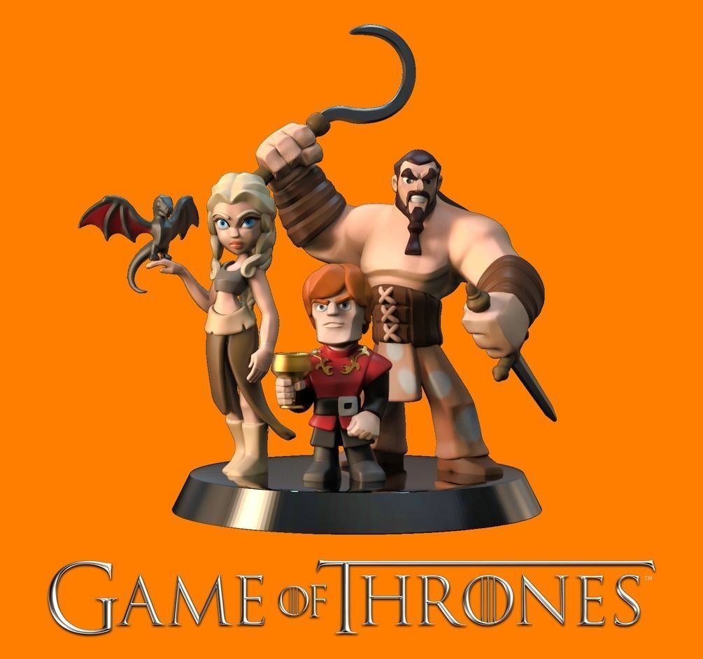 Game of Thrones 3d Print Pack