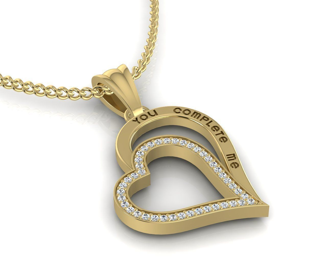 Pendant   YOU COMPLETE ME