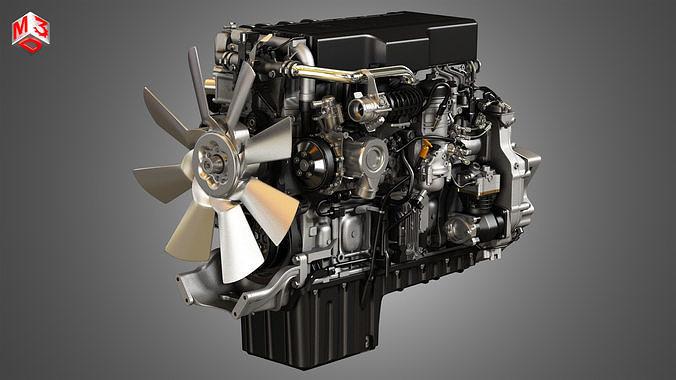 DD15 Heavy Duty Truck Engine - 6 Cylinder Diesel Engine