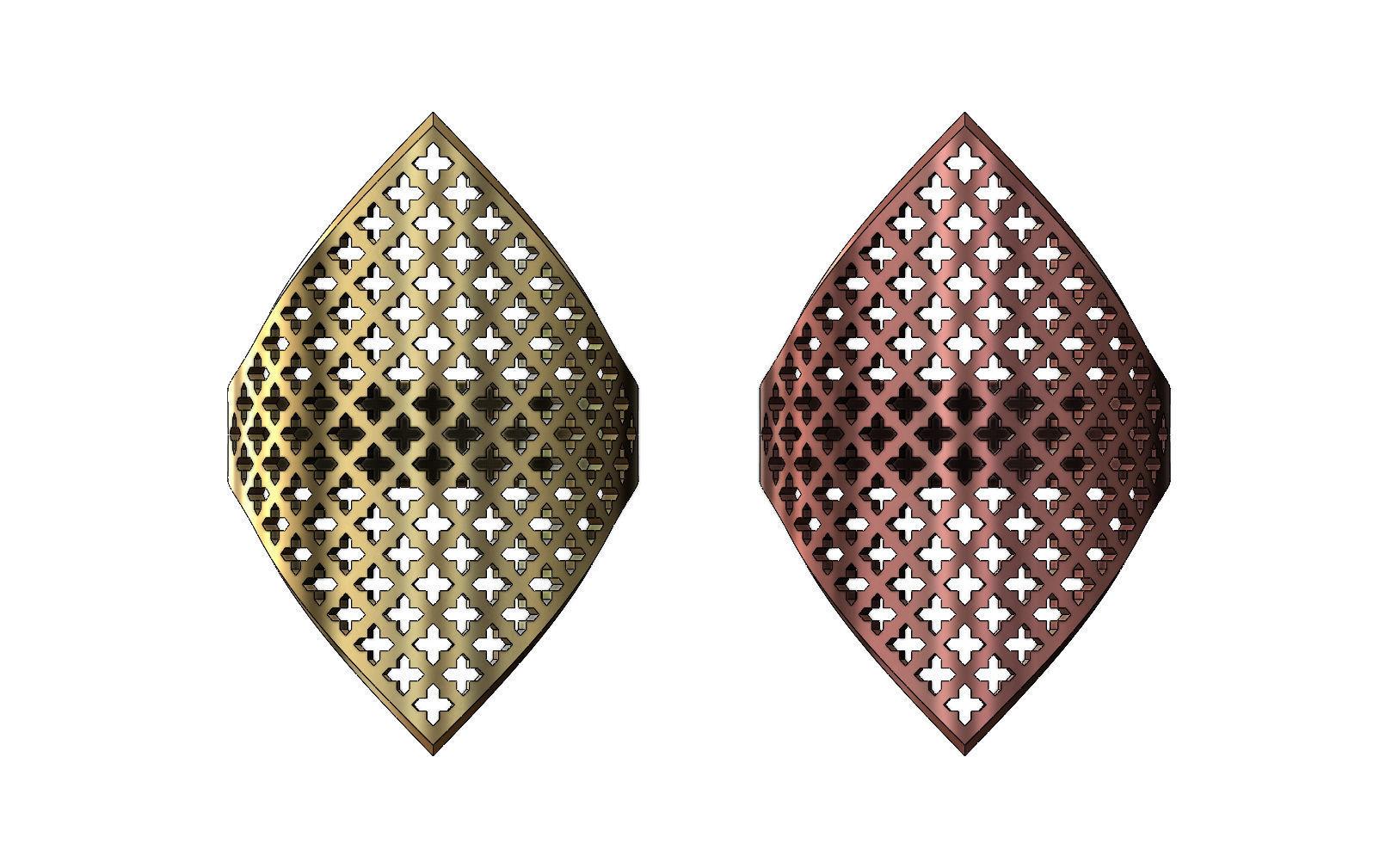 Moroccan moucharabieh motif ring