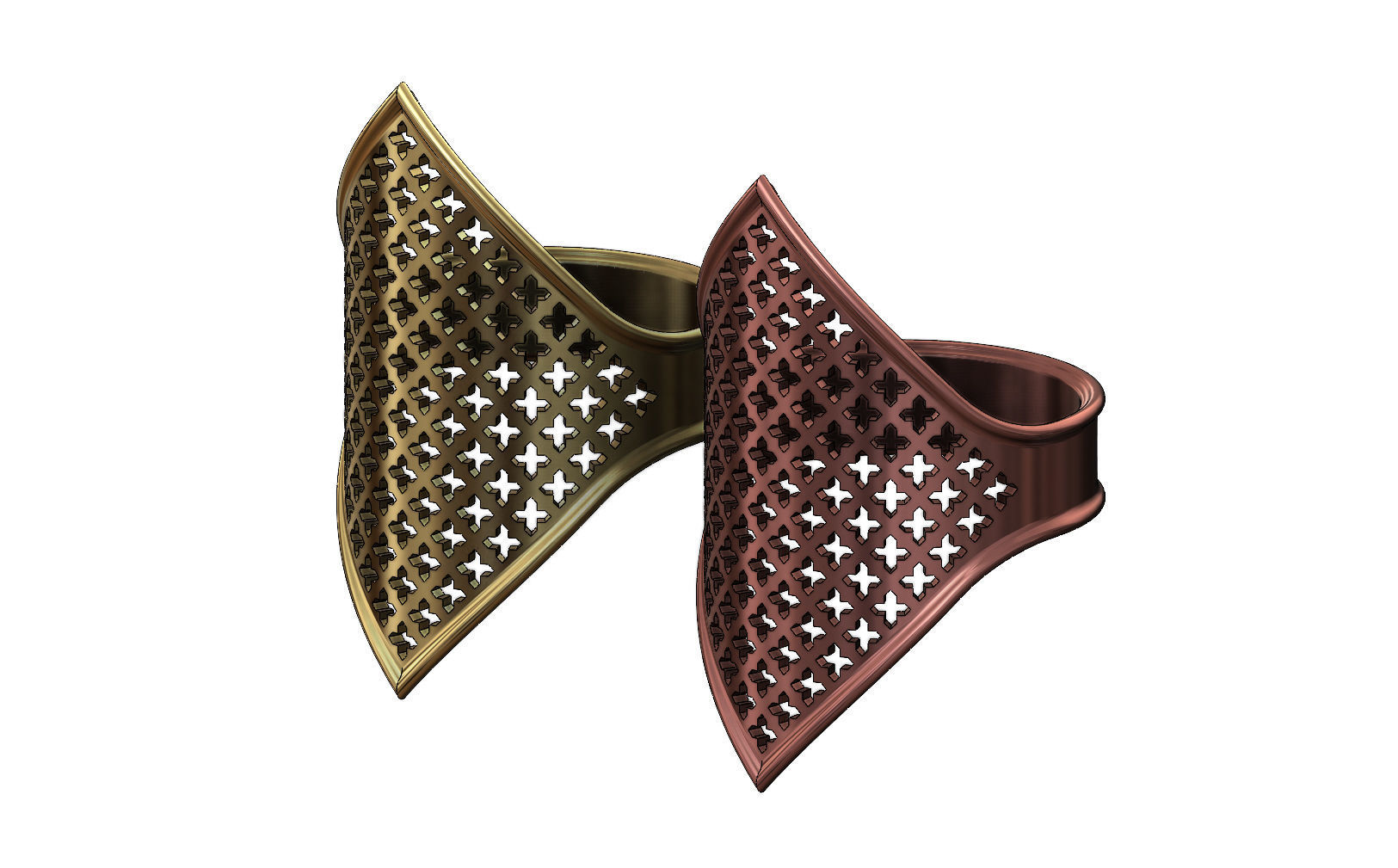 Moroccan beldi gold ring