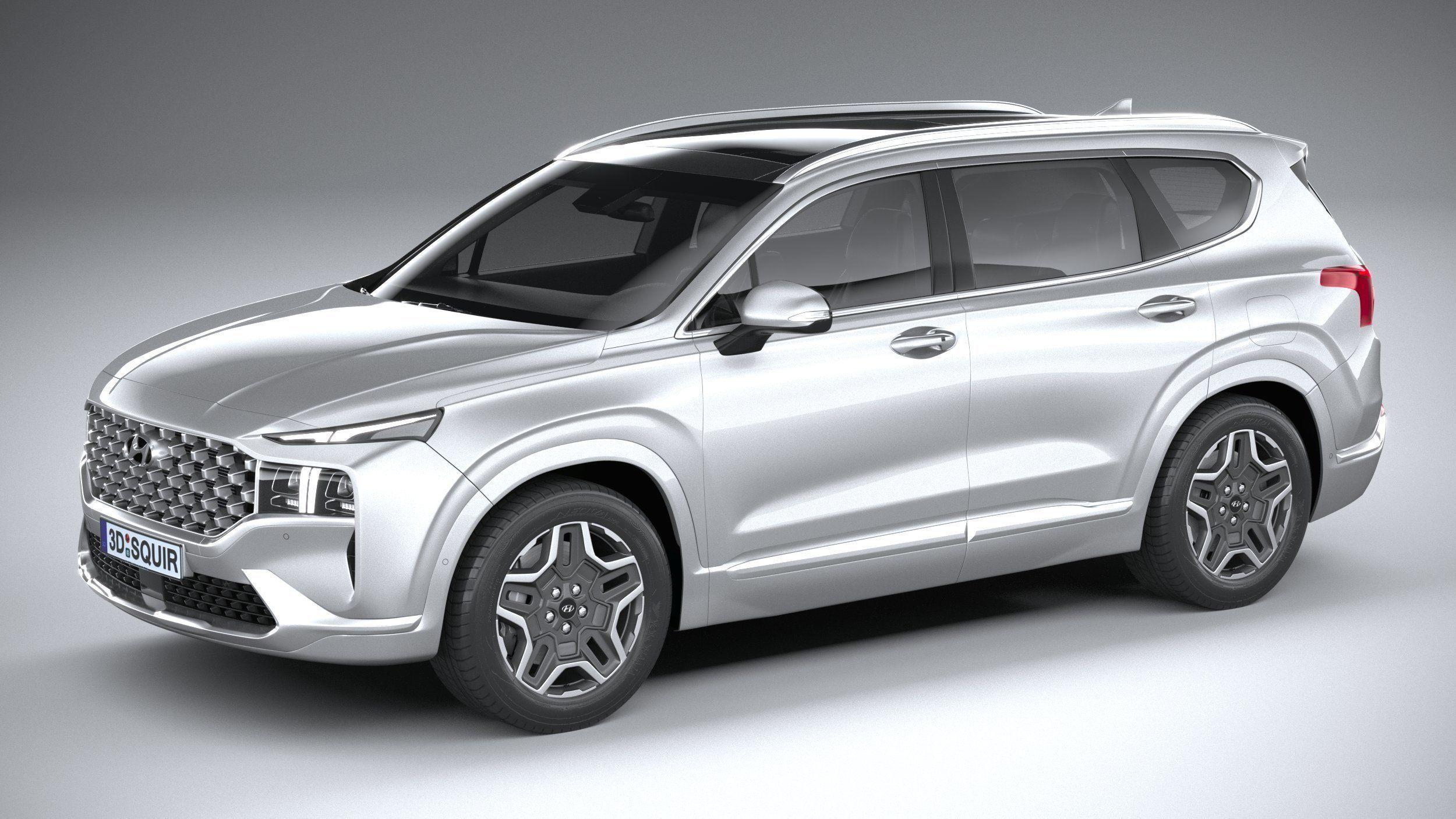 Hyundai SantaFe 2021 3D model | CGTrader