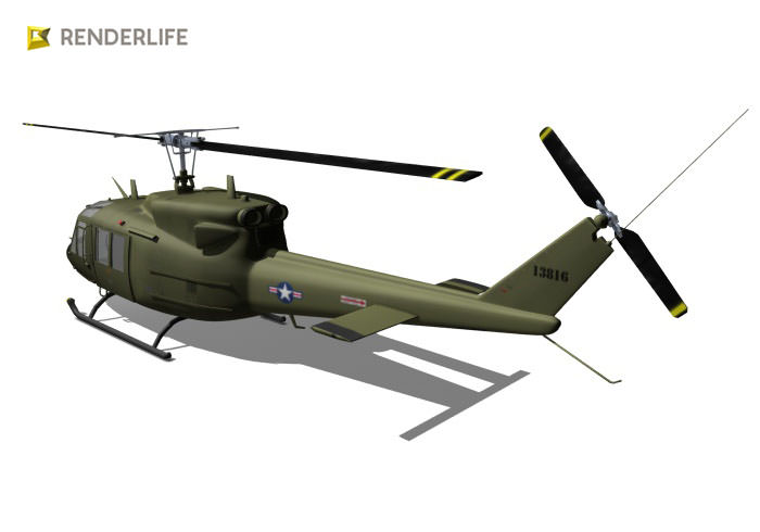 Huey Bell UH-1 helicopter