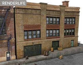 3D model Factory Warehouse 24839