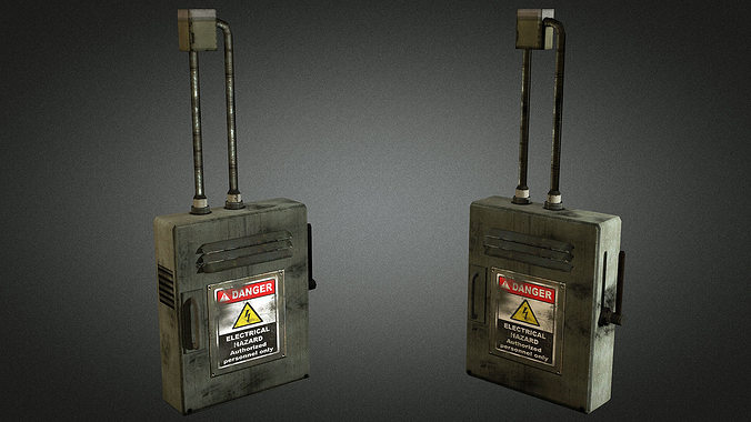 electric fuse box 01 3d asset cgtrader rh cgtrader com fuse box online game fuse box in hitman sniper game