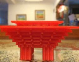 China pavilion 3D print model