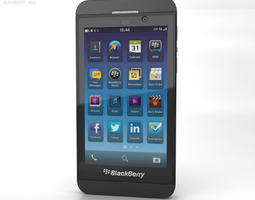 3D asset BlackBerry Z10
