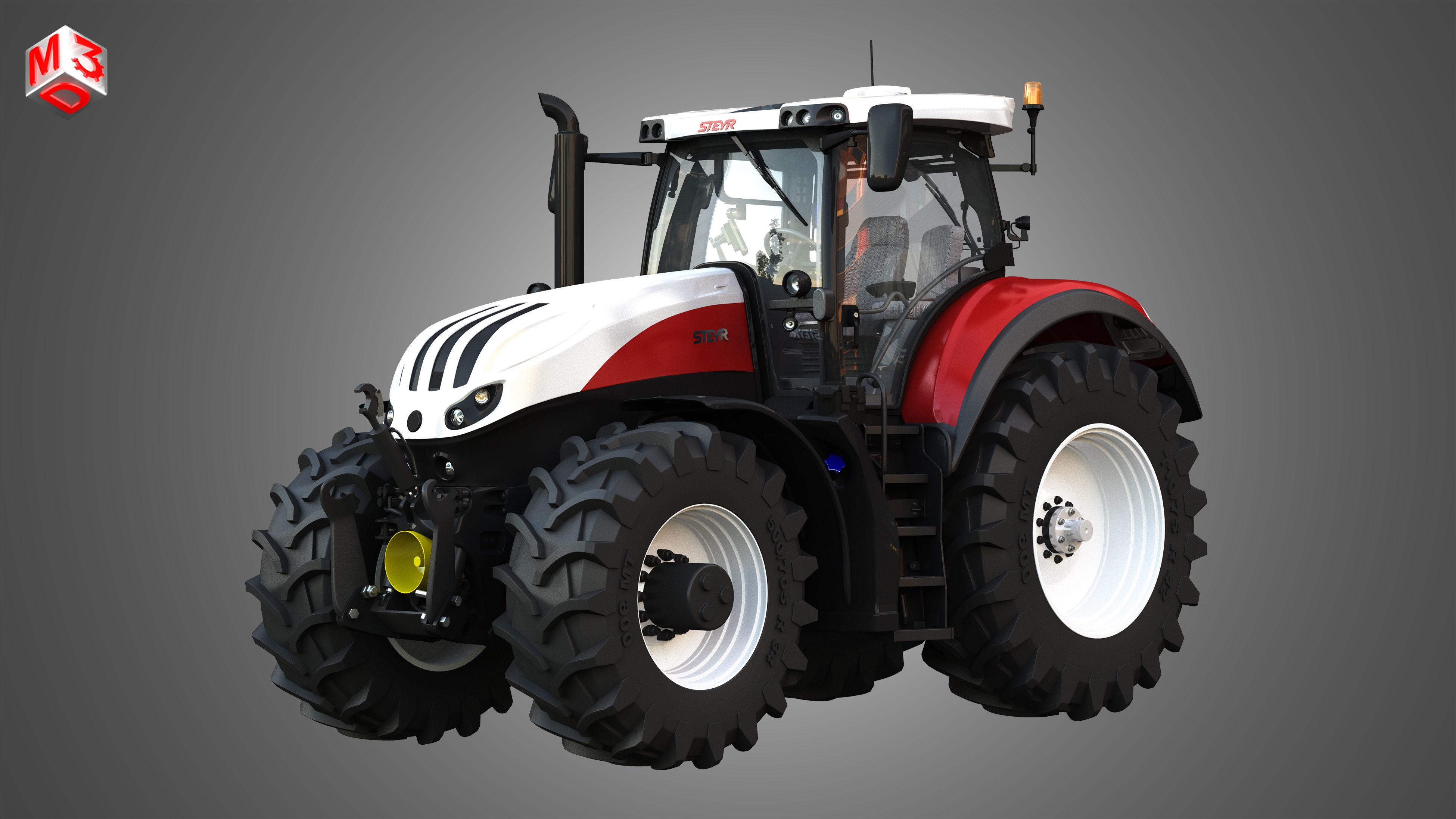 Terrus  CVT - 6300 Tractor