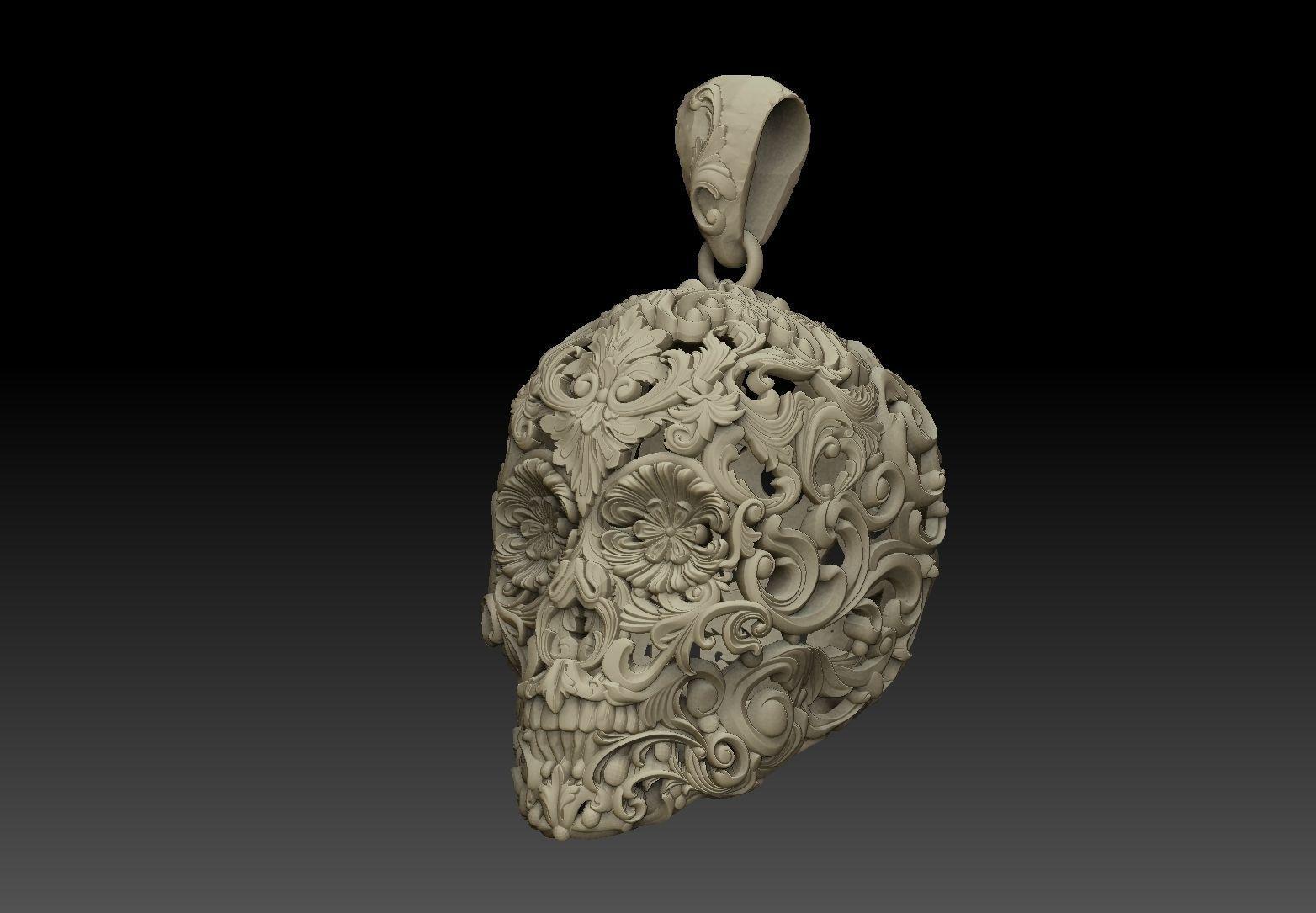 Skull ornamental  pendant jewelry