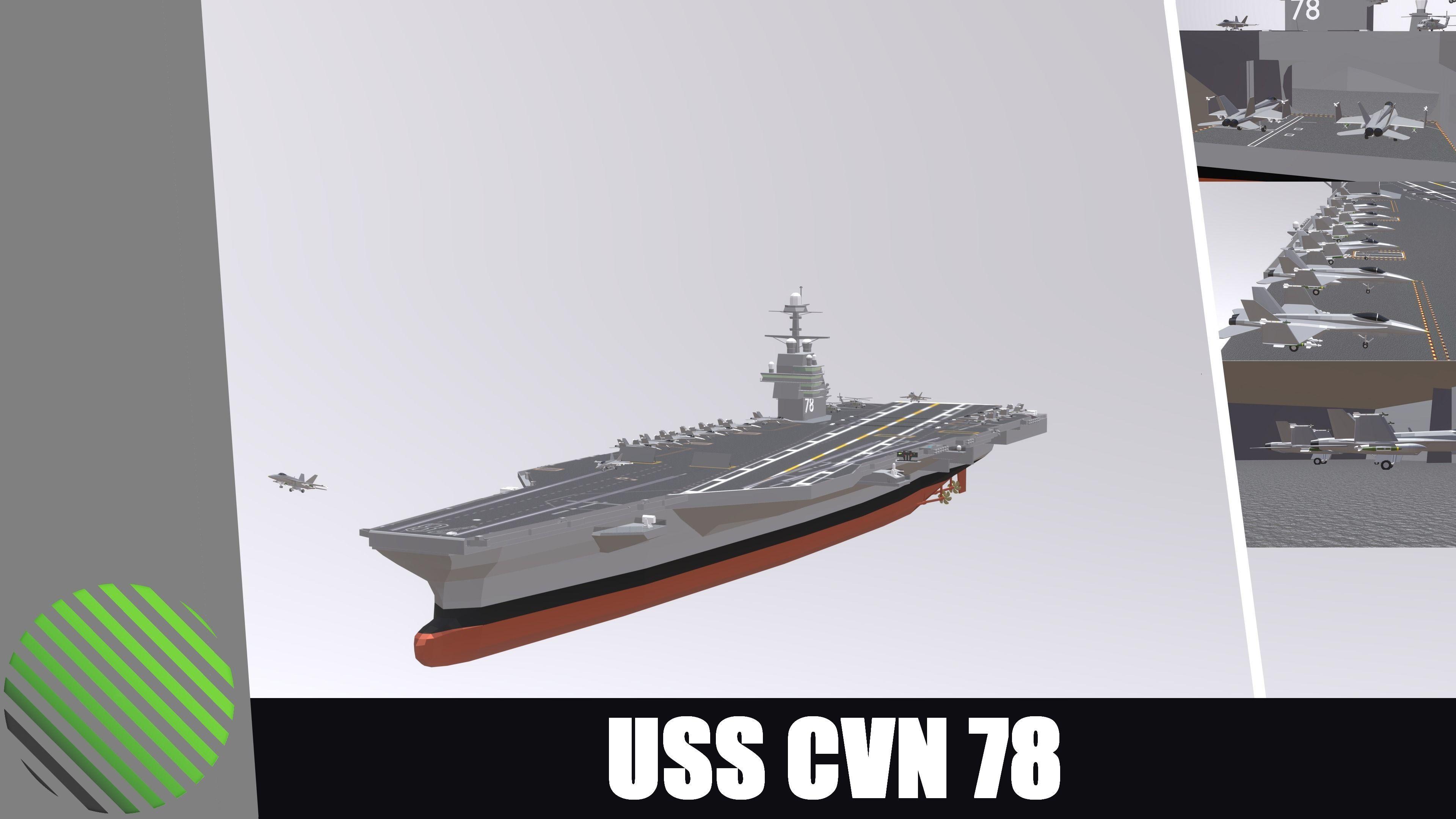 USS CVN 78 GERALD FORD