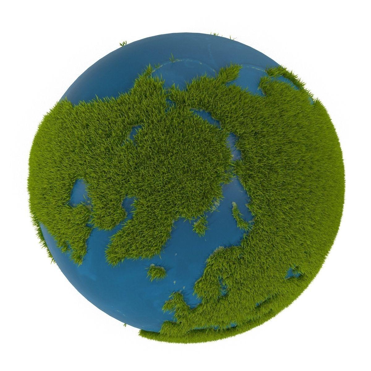 Green Planet 3D Model MAX