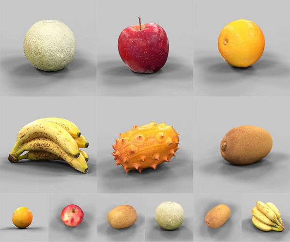 3D FRUIT MODELS DOWNLOAD