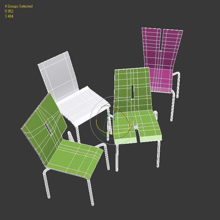 ... Tabisso Kids Chairs 3d Model Max Obj Fbx Dxf Mtl 6