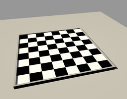 3D model Chess board