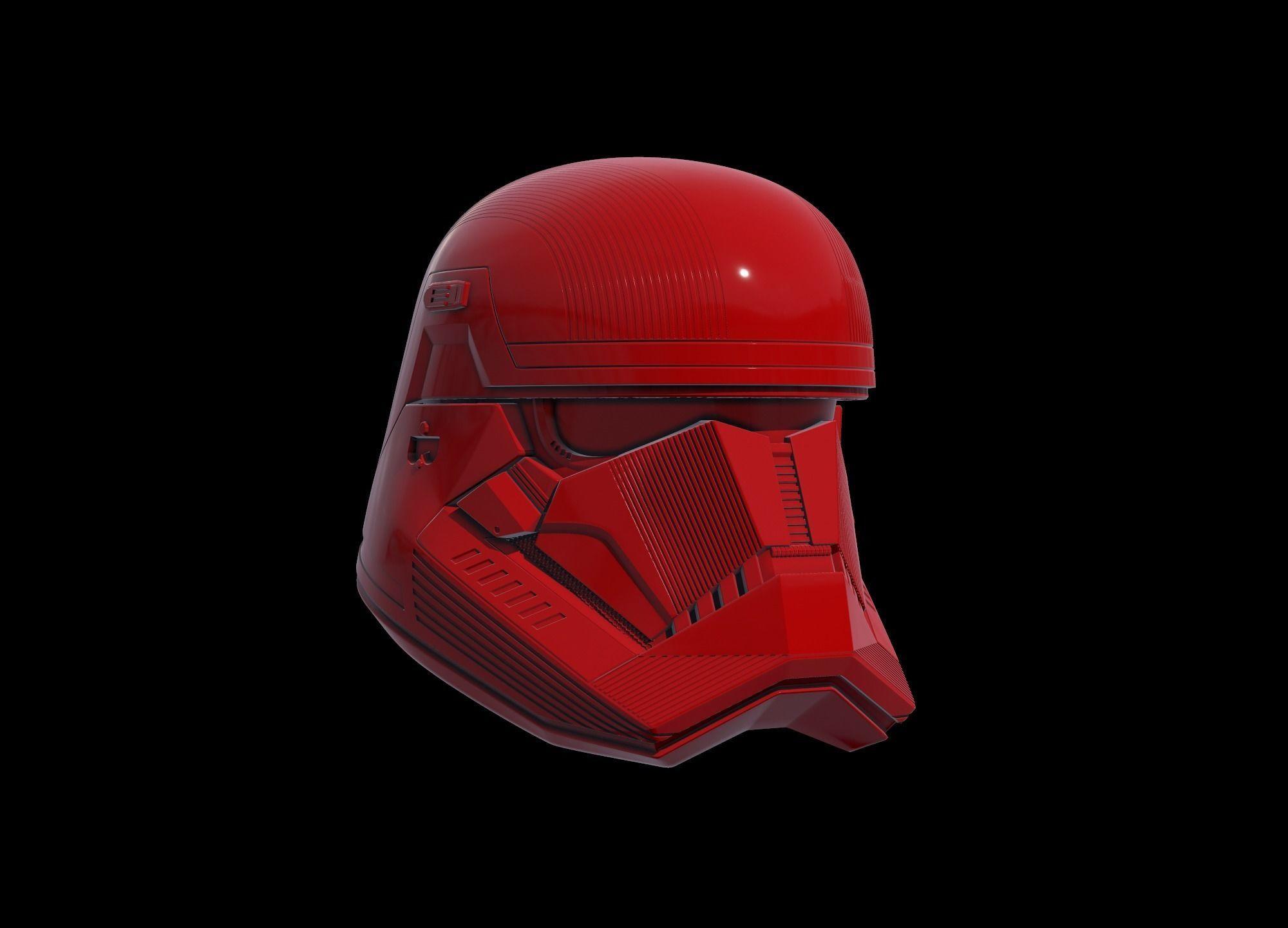 Sith Troop Helmet Wearable 3D Print Model