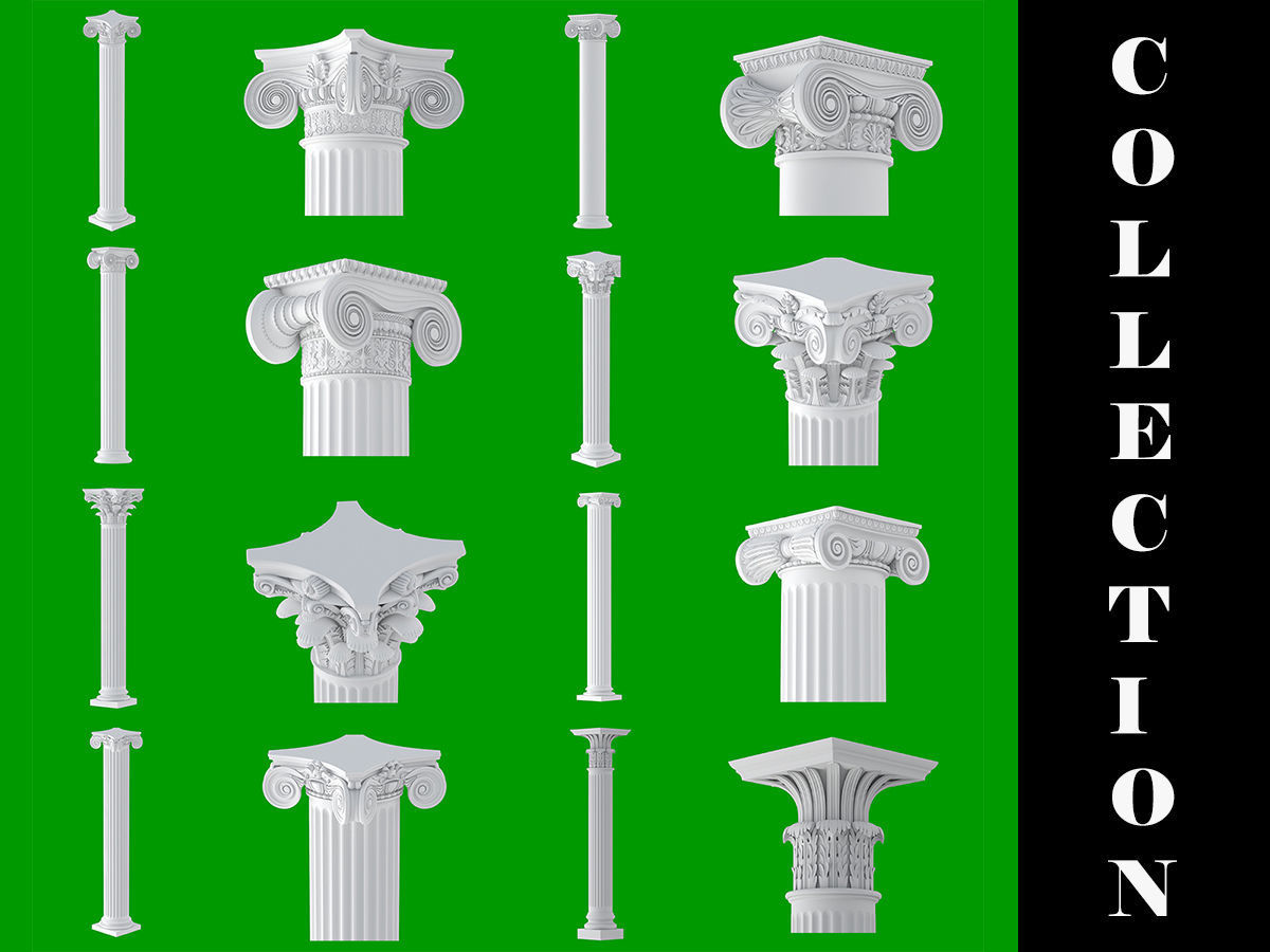 8 Classic Columns Collection