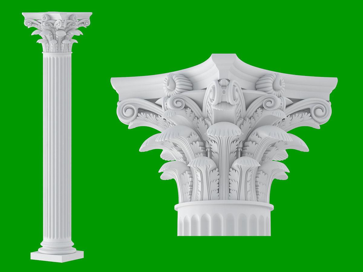 Roman Corinthian Column